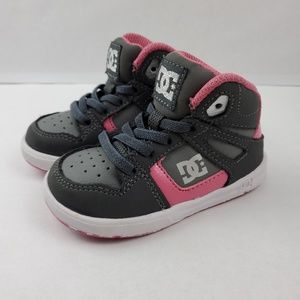 DC Rebound UL Toddler skater shoes - girl